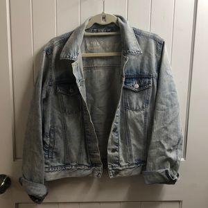 Gap light blue jean jacket (worn 3x)